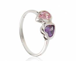 Srebrn prstan Moj Valentin
