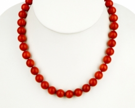 Ogrlica iz KORAL 11 mm