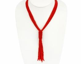 Ogrlica Moulin rouge iz koral