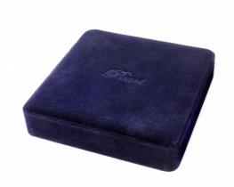 Embalaža za ogrlice BISERNO SRCE modra