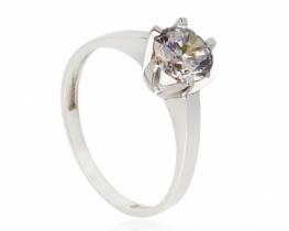 Srebrn prstan Princess DIA 8 mm