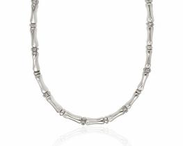 Srebrna ogrlica Chete & Laroche
