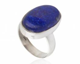 Srebrn prstan LAPIS LAZULI Marine Blue
