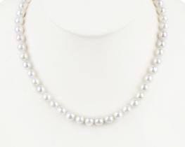Ogrlica POLARIS iz morskih biserov 8,5 mm