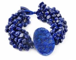 Zapestnica ATLAS lapis lazuli