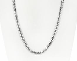 Srebrna verižica in zapestnica MIAMI CUBAN