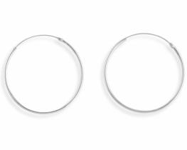 Srebrni uhani RINKA 12 - 40 mm
