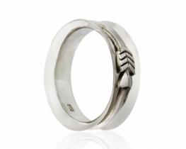 Moški srebrn prstan RINKA