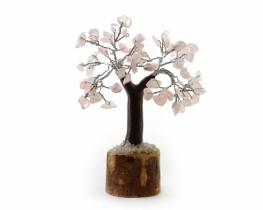 Drevo s kristali roževca / ametista ali aventurina