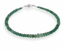Zapestnica iz smaragdov COLUMBIANA