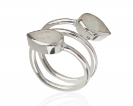 Srebrn prstan VIVA