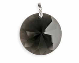 Obesek obsidijan ZVEZDA 45 mm