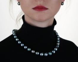 Biserna ogrlica TAHITI 11 -14,5 mm