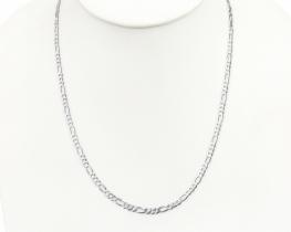 Srebrna verižica FIGARO 50 in 60 cm