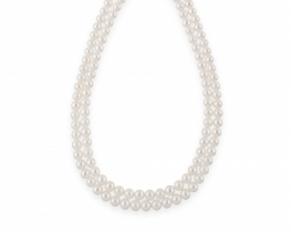 Biserna ogrlica Miramar 8 mm - dvoredna