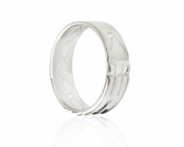 ATLANTIDSKI  prstan - moški obseg