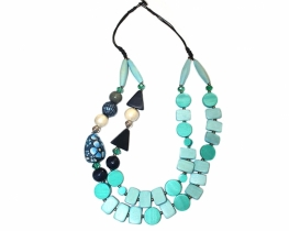Dvoredna modna ogrlica LANA