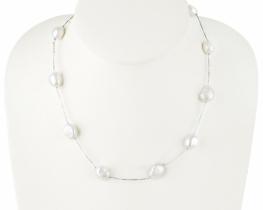 Modna ogrlica DIXIE z biseri dolžine 50 in 90 cm