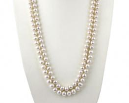 Biserna ogrlica AMADEJA -120 cm