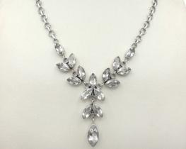 Srebrna ogrlica Anabella - kamena strela