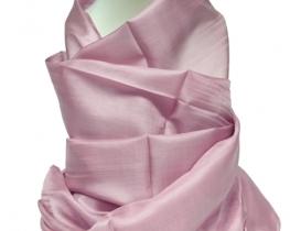 Šal COCOON 100 % svila  - svetla lavanda