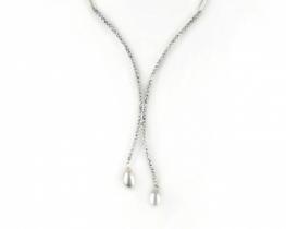 Ogrlica DIVA z biseri in cirkoni