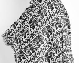 Šal Pašmina Elephant
