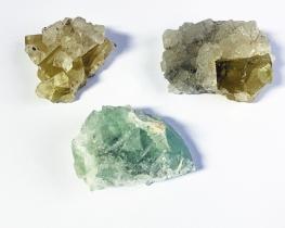 Fluorit mineral Peru