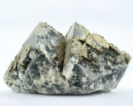 Mineral FLUORIT + PIRIT CUBO GRANDE