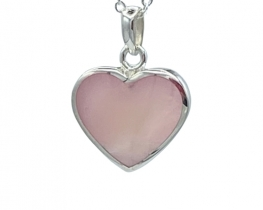 Obesek Love Heart PINK