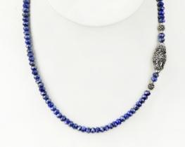 Ogrlica LAPIS ORIENT z ornamentom 12 x 22 mm
