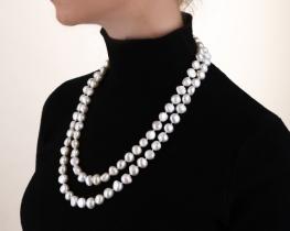 Biserna ogrlica ASTORIA - 120 cm