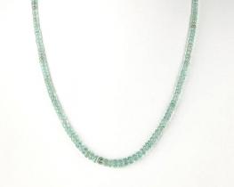 Ogrlica COLUMBIANA iz smaragdov