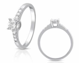 Diamantni prstan ORIONIS