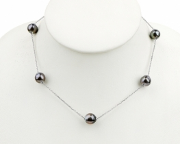 Biserna ogrlica TAHITI  10 - 11 mm