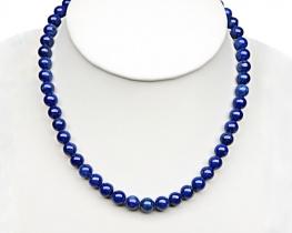 Ogrlica lapis lazuli 4 in 6 mm AA