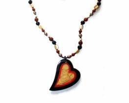 Ogrlica Madeira - srce