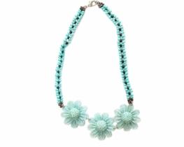 Ogrlica Flores - Blue