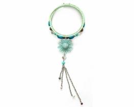 Ogrlica FLORES - obroč