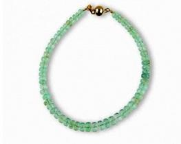 Zapestnica COLUMBIANA iz smaragdov