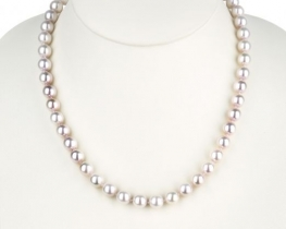 Biserna ogrlica BELLE PEARL iz AKOYA biserov - 8,5 mm