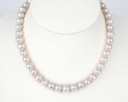 Biserna ogrlica EVITA P.  9 mm
