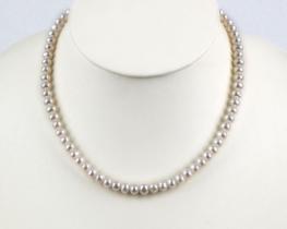 Biserna ogrlica EVITA P. -  6 mm