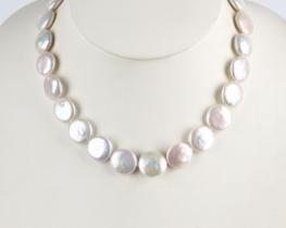 Biserna ogrlica LEONA 43 ali 50 cm