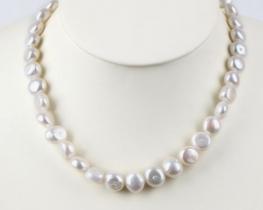 Biserna ogrlica ONDINE 10 -12 mm