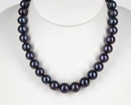 Biserna ogrlica OPRAH 11-14 mm - zlata zaponka