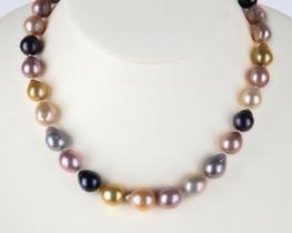Biserna ogrlica VIVIENNE 11-14 mm