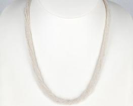 BISERNI ZAKLAD, 10-redna ogrlica iz MINI BISEROV 1,5 mm