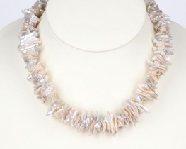 Biserna ogrlica keishi - 18 mm