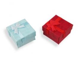 Darilna embalaža za prstane 4 x 4 rdeča